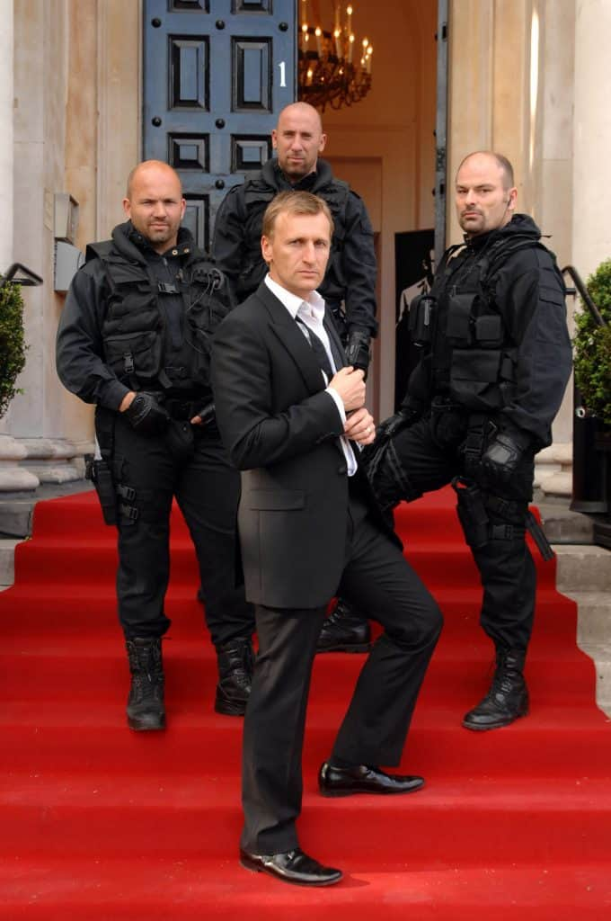 Daniel Craig & stunt team for hire. Book our Daniel Craig lookalike for James Bond-themed events in the Leeds & the UK.