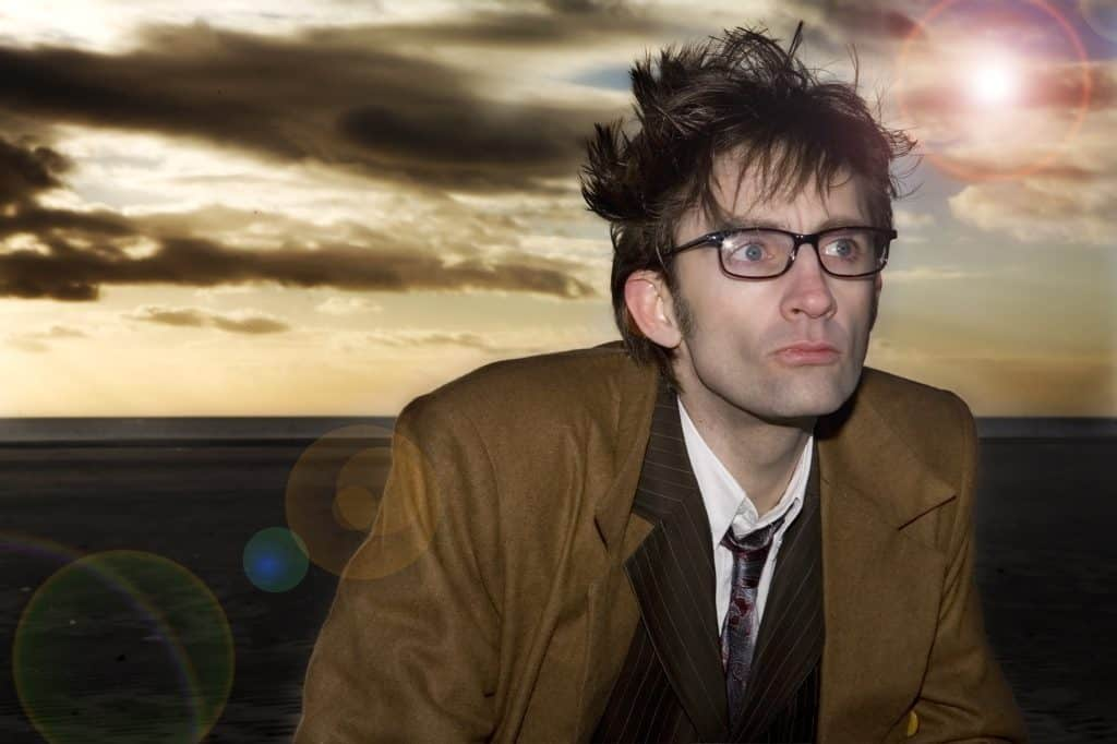 David Tenant lookalike for hire. Book our Doctor Who tribute act for your party