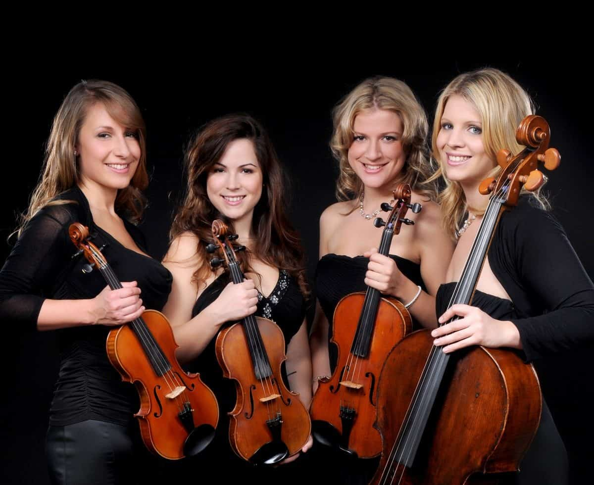 UK-based professional string quartet for hire. Book our classical string ensemble for weddings, corporate events or private parties.