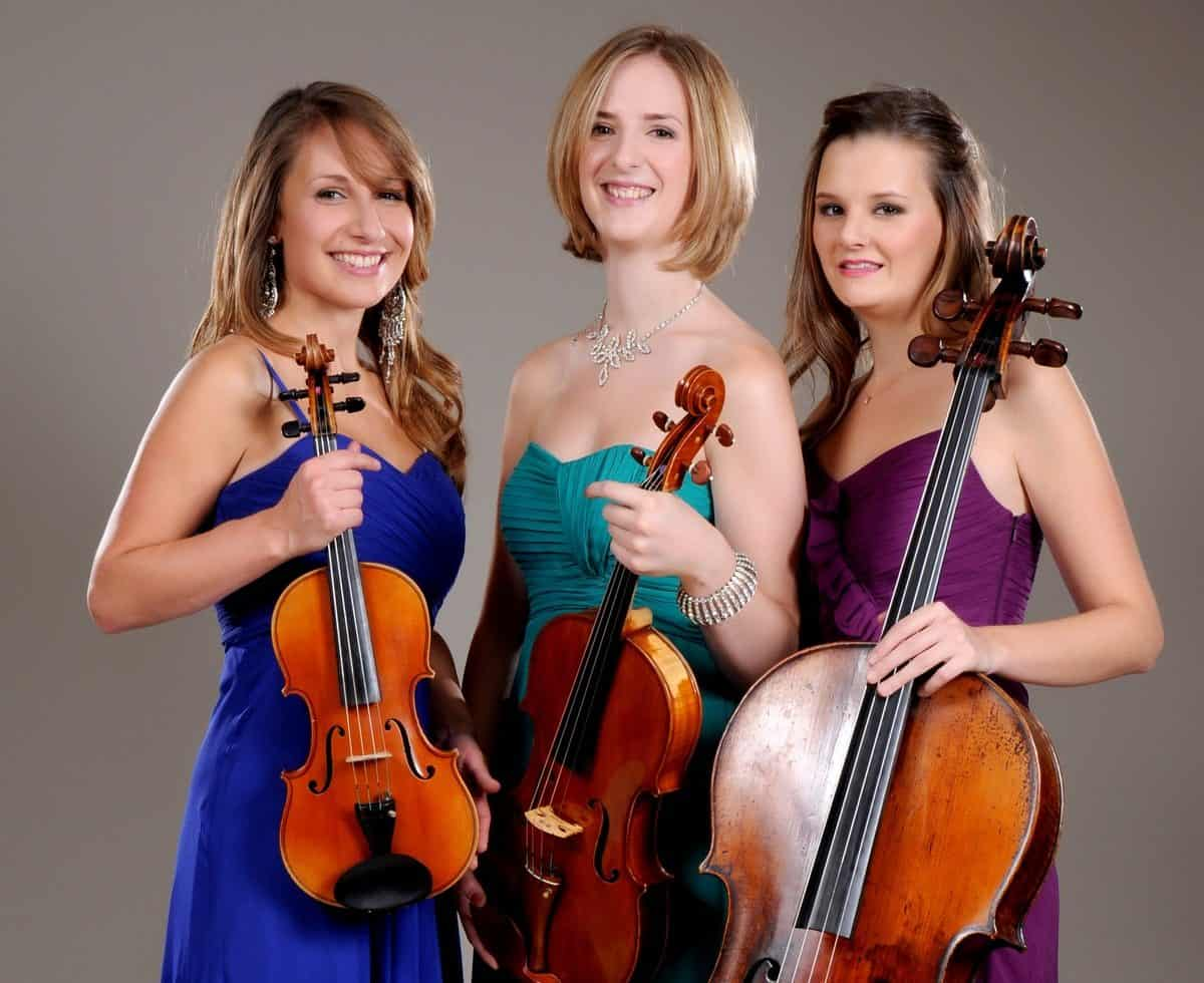Classical string trio available to book for corporate events in London.