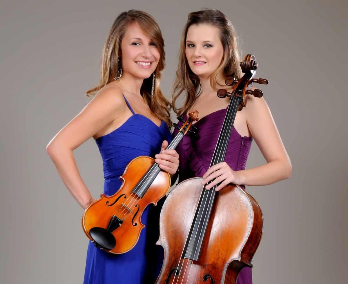 UK-based string duo available to book for weddings.