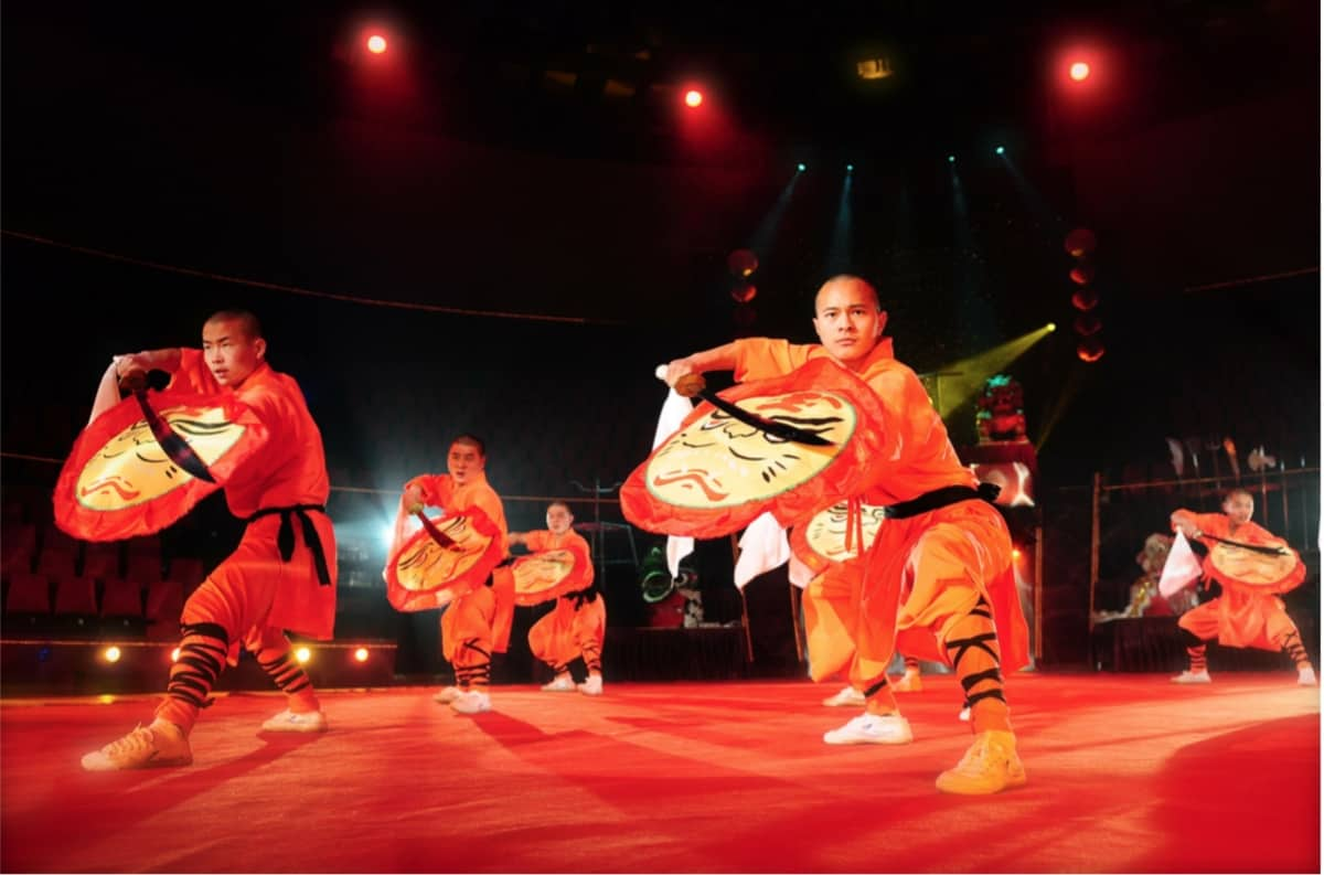 The Fierce Shaolin Kung Fu Show for hire. Book our Shaolin Kung Fu Show for Chinese New Year events in London & the UK.