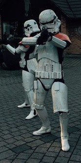 Our collective group of Stormtroopers are available to book for private events in London & the UK.