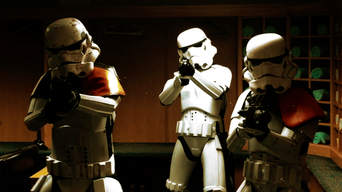Our Stormtroopers are available to book for birthday parties in London & the UK.