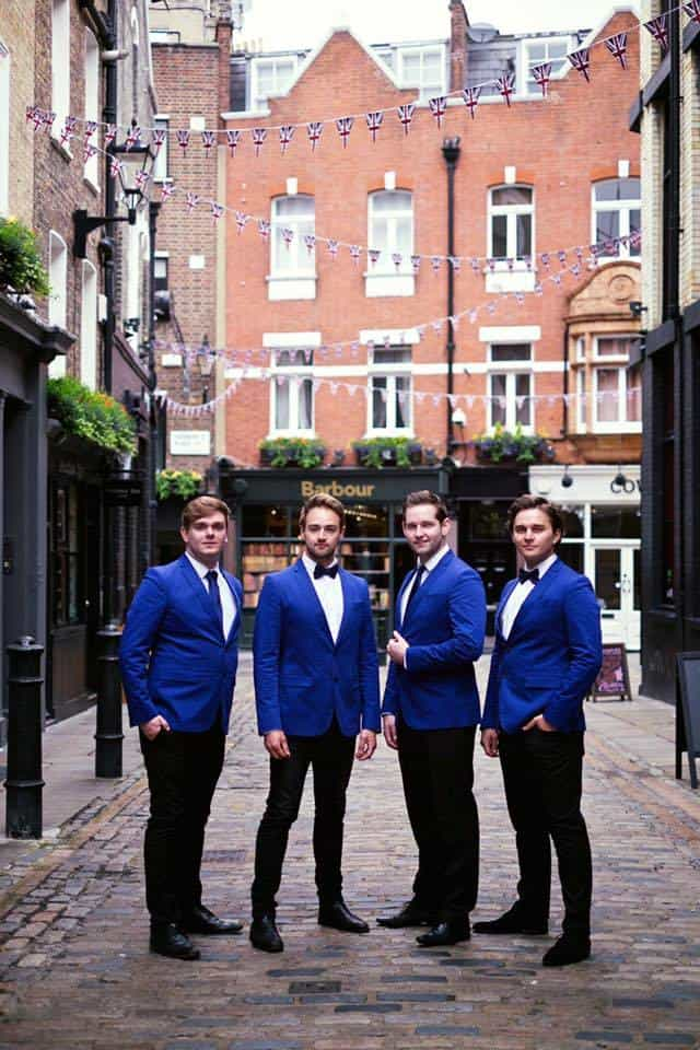 Wedding A Capella entertainment for hire in the UK.