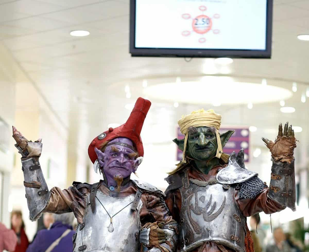 Goblins for hire. Our halloween Goblins are available for hire in London and around the UK.