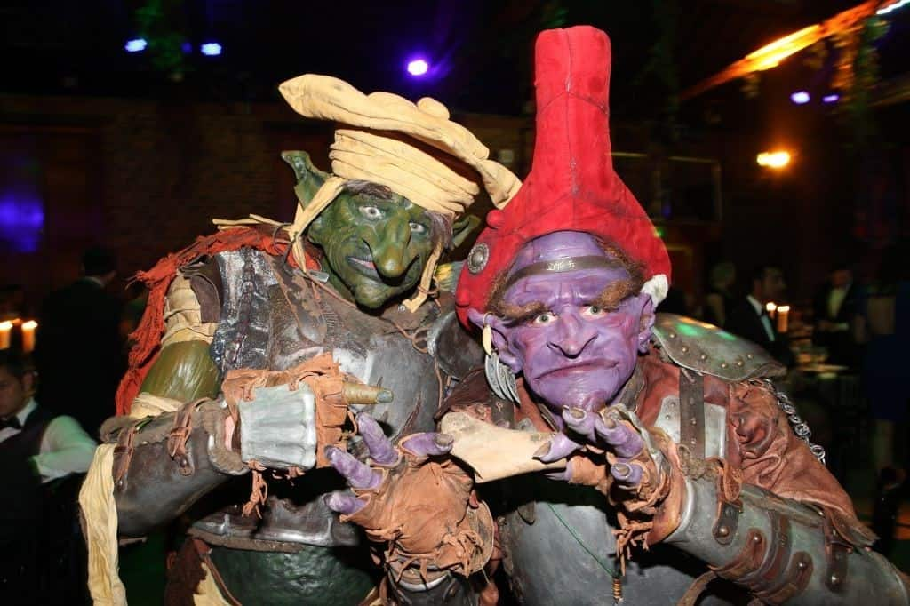 Halloween Goblin for hire. Our goblins are available for hire in london and around the UK.