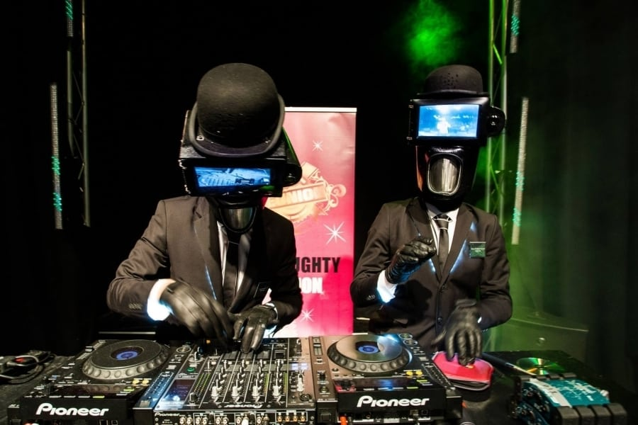 Book our robotic DJ's for your event. Our robitc Sci Fi Dj's are available for hire in London and around the UK.