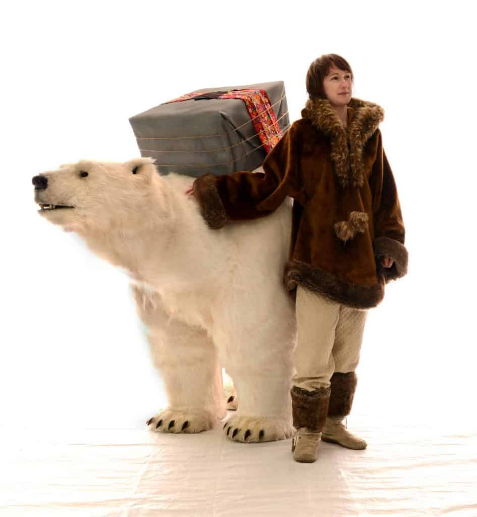 Polar bear shows for hire in London and the UK for family friendly events. Book a special Christmas show for your Christmas event.