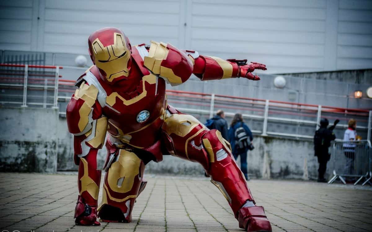 Book our Iron Man for your event. Our Iron man is available for hire in London and around the UK.