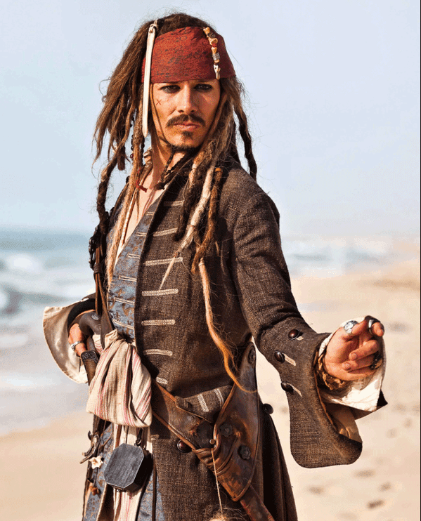 Pirates of the Caribbean lookalike act for hire. Our Jack Sparrow lookalike is available to book for awards ceremonies in the UK & London.