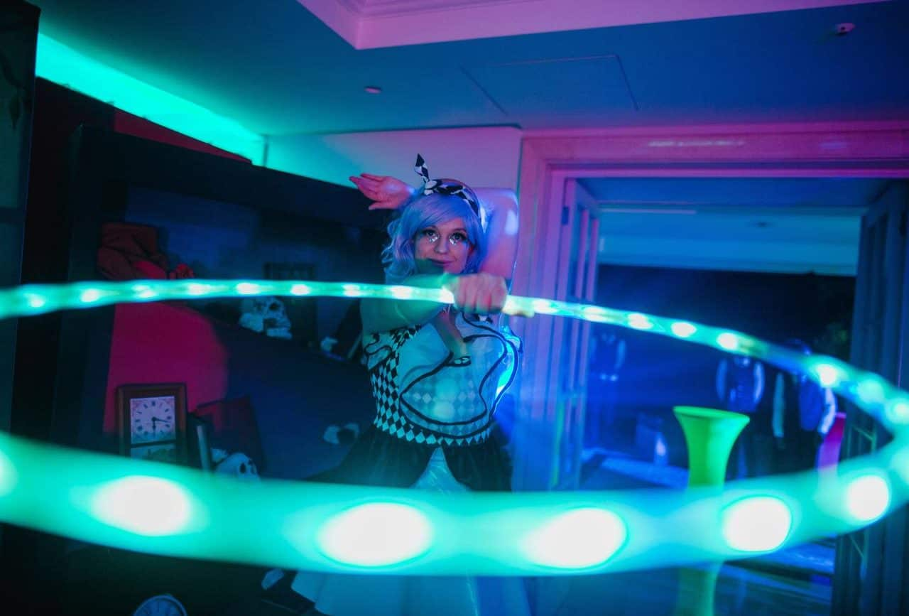 Twisted alice inspired entertainment available to book for twisted alice themed events