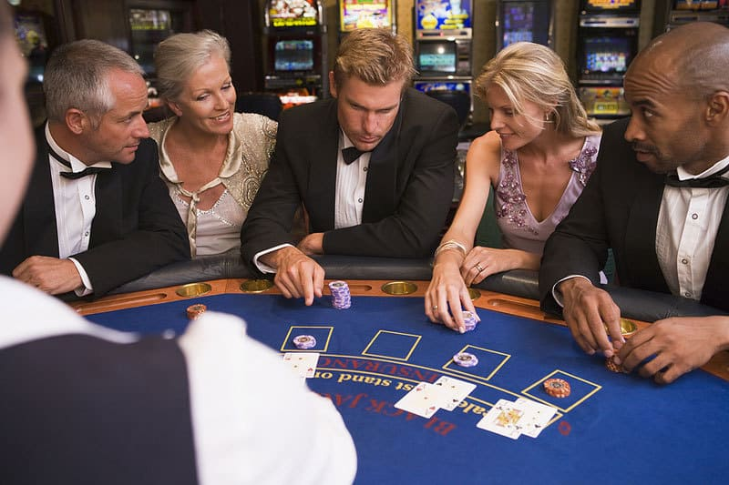 Our casino tables are available for hire for Christmas-themed events across the UK and worldwide!