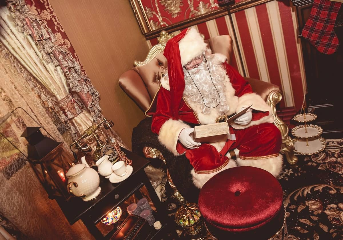 Book our Santa's Grotto for Christmas-themed events in London & the UK.