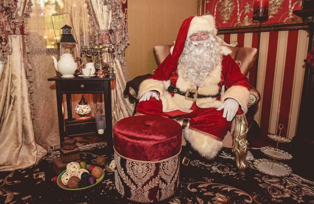 Our luxury Santa's grotto is available to hire for Christmas-themed charity events in the UK & London.