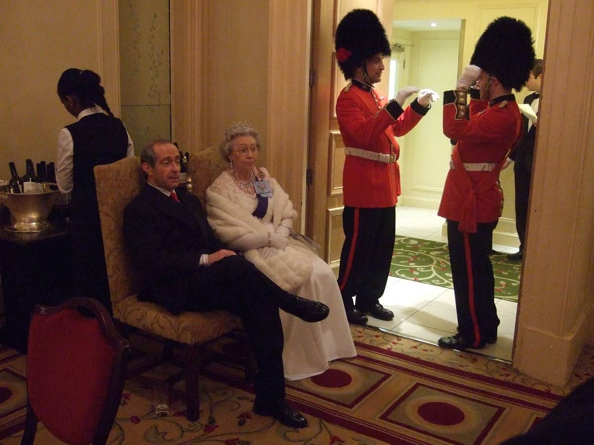 British themed entertainment ideas. Our Royal themed mime artist can be hired in London & UK