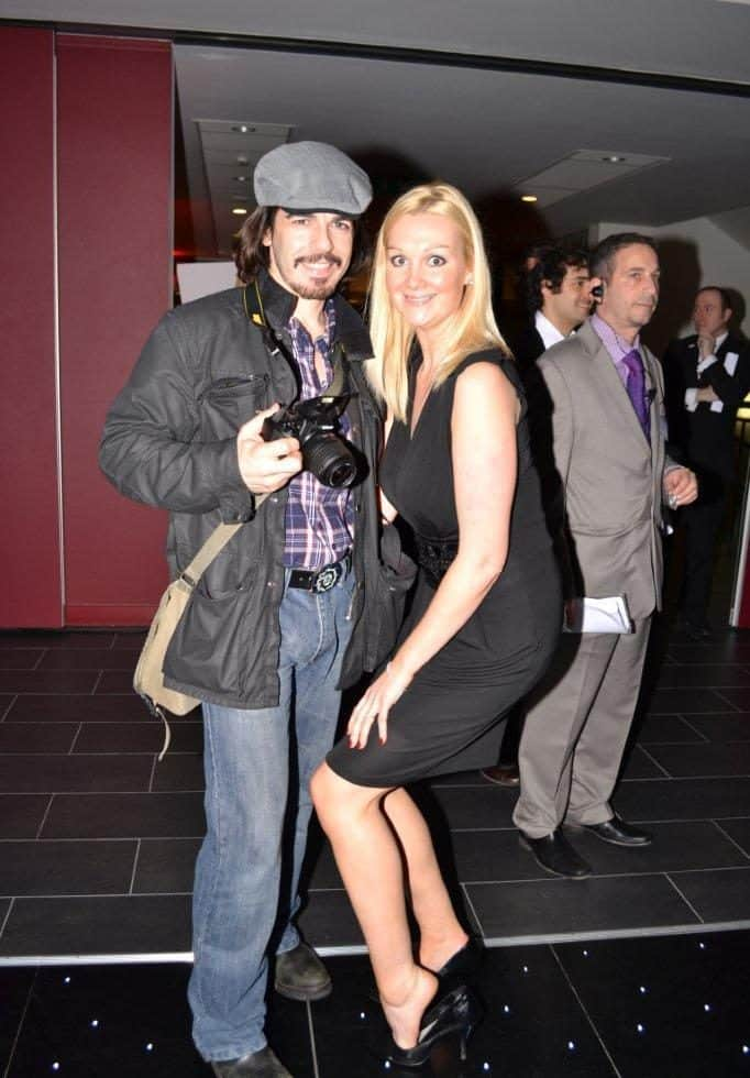 Fake paparazzi walkabout act for hire. Book our Modern Paparazzi photographers for award ceremonies in London & the UK.