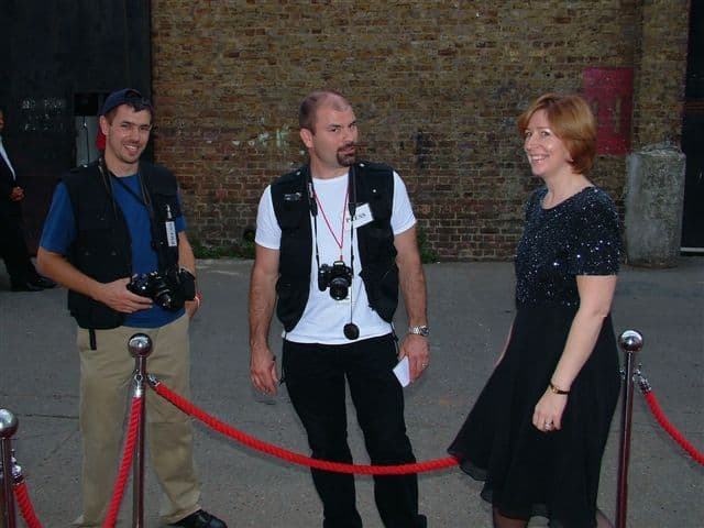 Comedy walkabout act for hire. Book our Modern Fake Paparazzi photographers for gala dinners in the UK & Leeds.