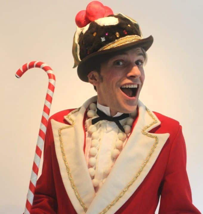 Christmas Entertainers for hire. Book our Christmas elves for Winter Wonderland events in London & the UK.