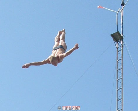 High Divers for hire. Book our High Diving Show for corporate events in London & the UK.