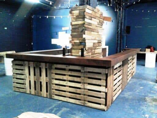 Festival furniture and bars for hire in the UK.