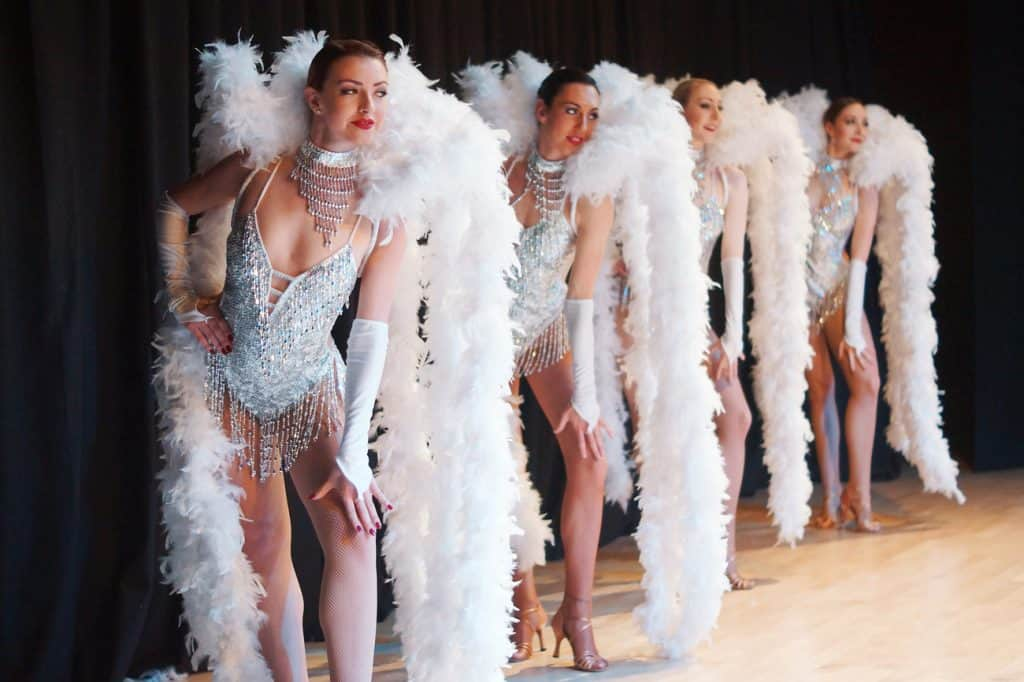 Hire Burlesque Showgirls, available across the UK