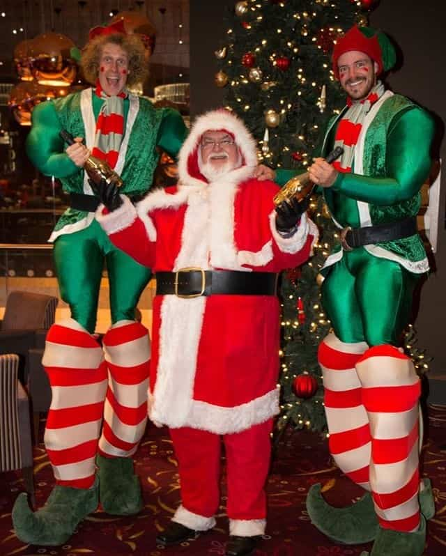 Real bearded Santa Claus for hire. Santa Steven is available to book for Christmas-themed events in the UK & London.