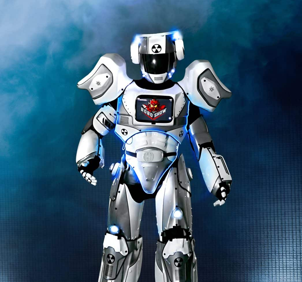 Hire robot show for your private party