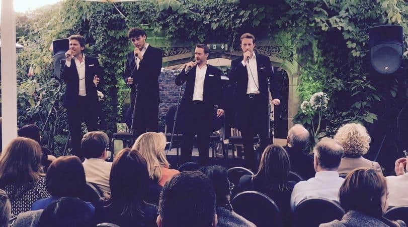 Our classical crossover artists are available to book for private events in Europe & the UK.