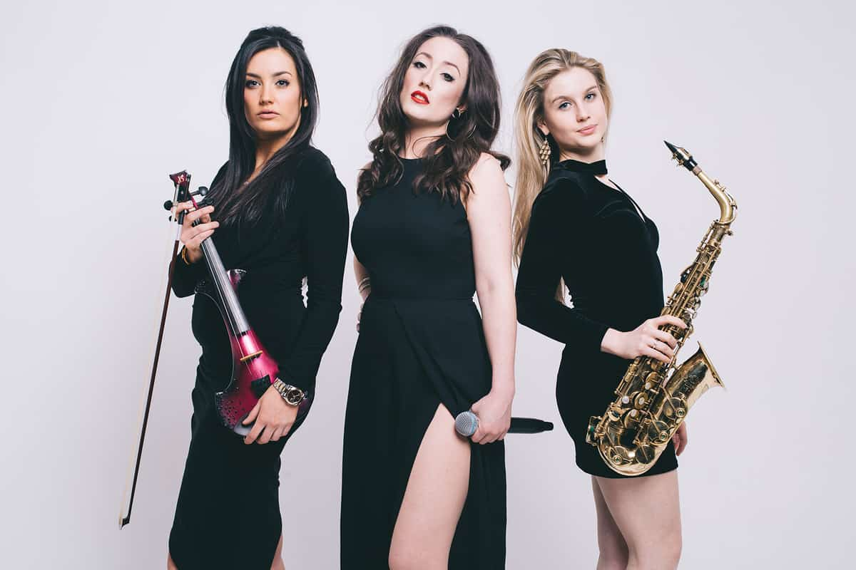 Our all female band is available to book for corporate events in London & the UK.