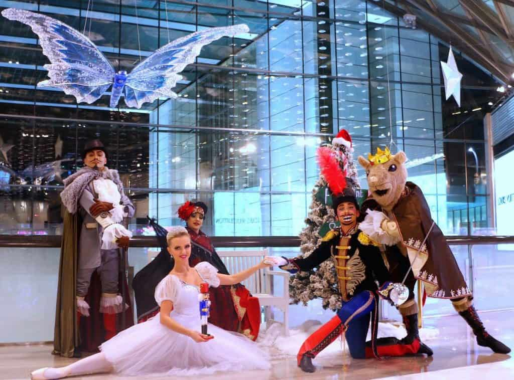 The Nutcracker Ballet Characters for hire. The Nutcracker Christmas Ballet Show is available to book for Christmas-themed events, shopping centre events or Winter Wonderland-themed events in London & the UK.
