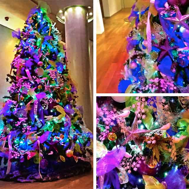 Purple Christmas Tree For Hire Book Commercial Christmas