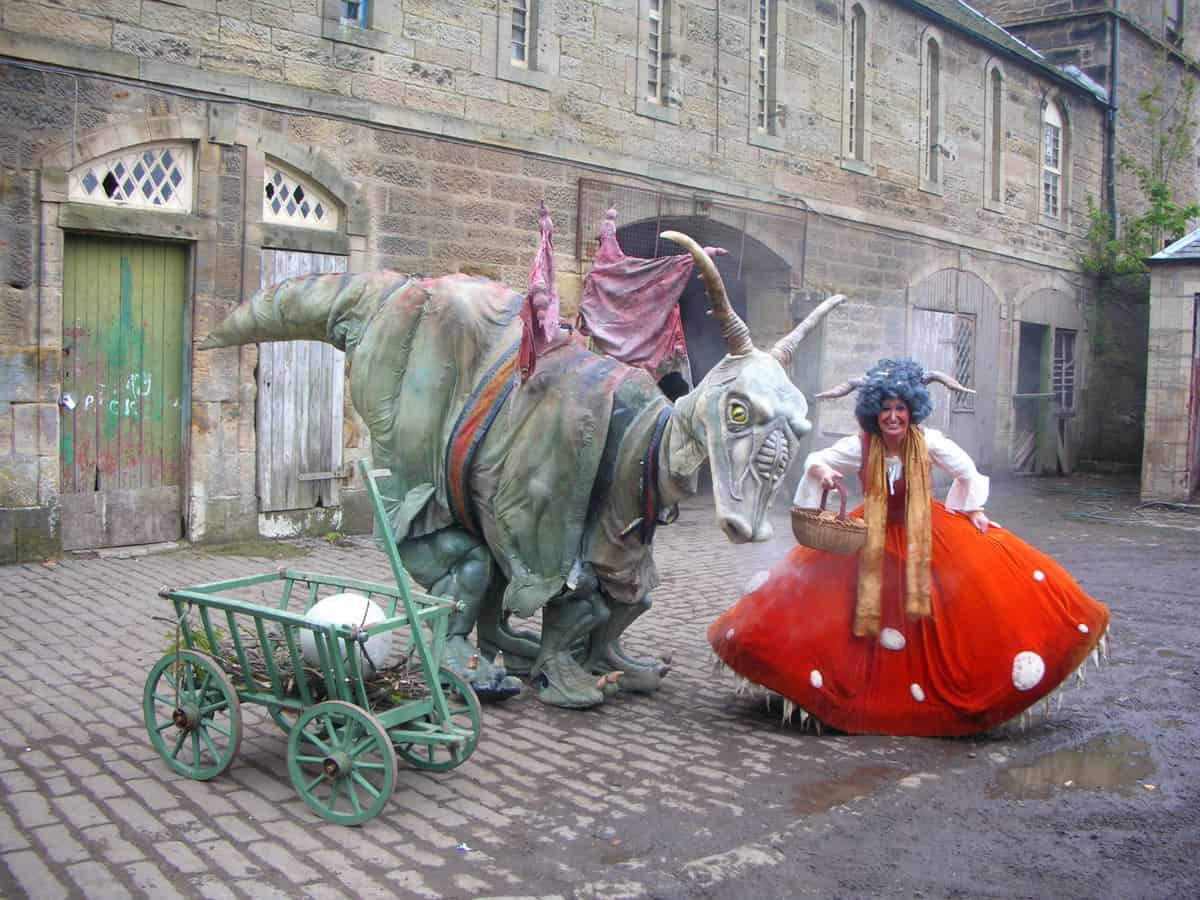Dragon and Goblin event entertainers for hire