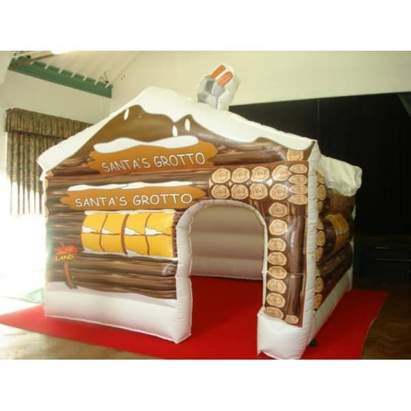 Inflatable Grottos for hire for Christmas-themed events or Winter Wonderland-themed events in London & the UK.