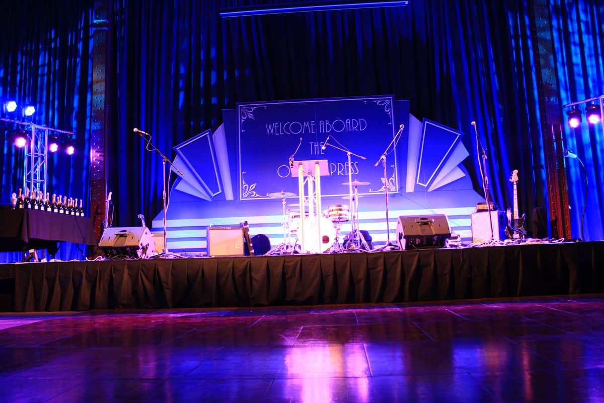 Hire our corporate event production services in London and the UK