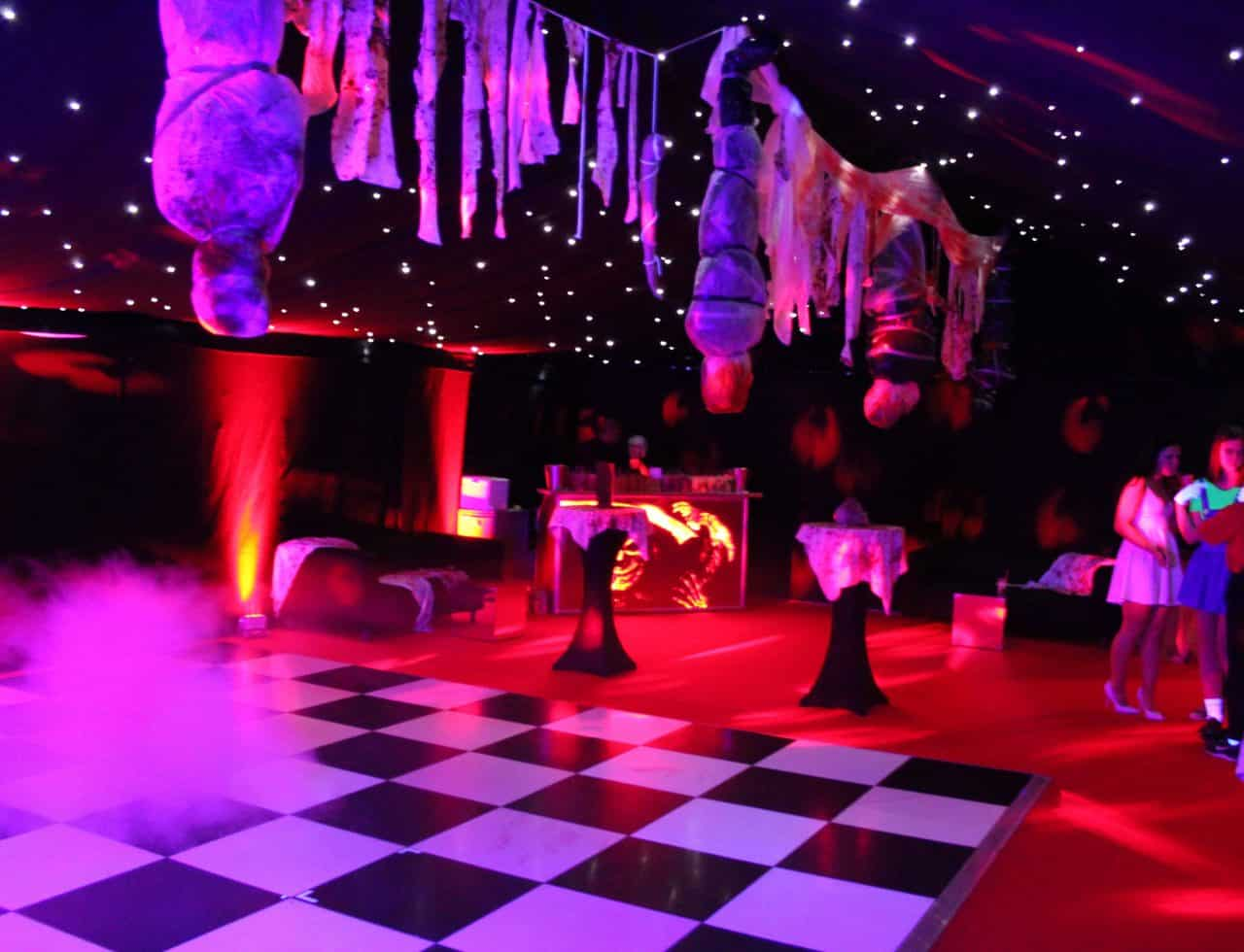 American Horror Story Halloween Venue Dressing service available to book for Halloween events.