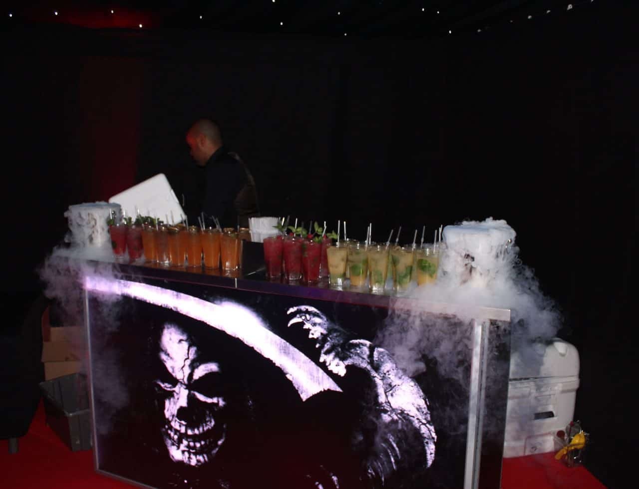 American Horror Story themed Bar design we created for our client.