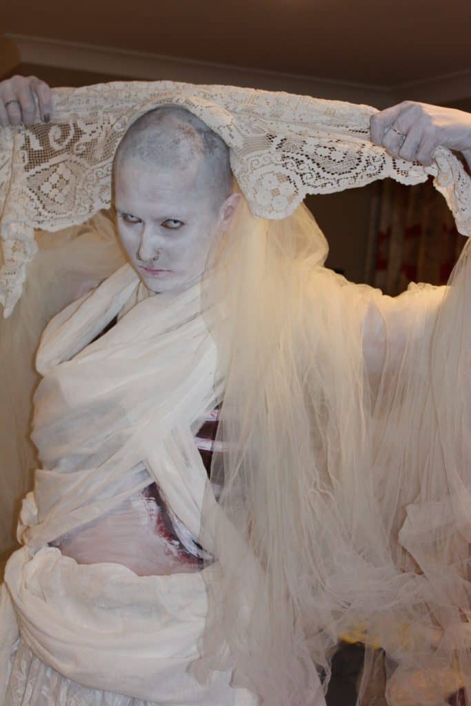 American Horror Story Entertainer we booked for our client's Halloween event.