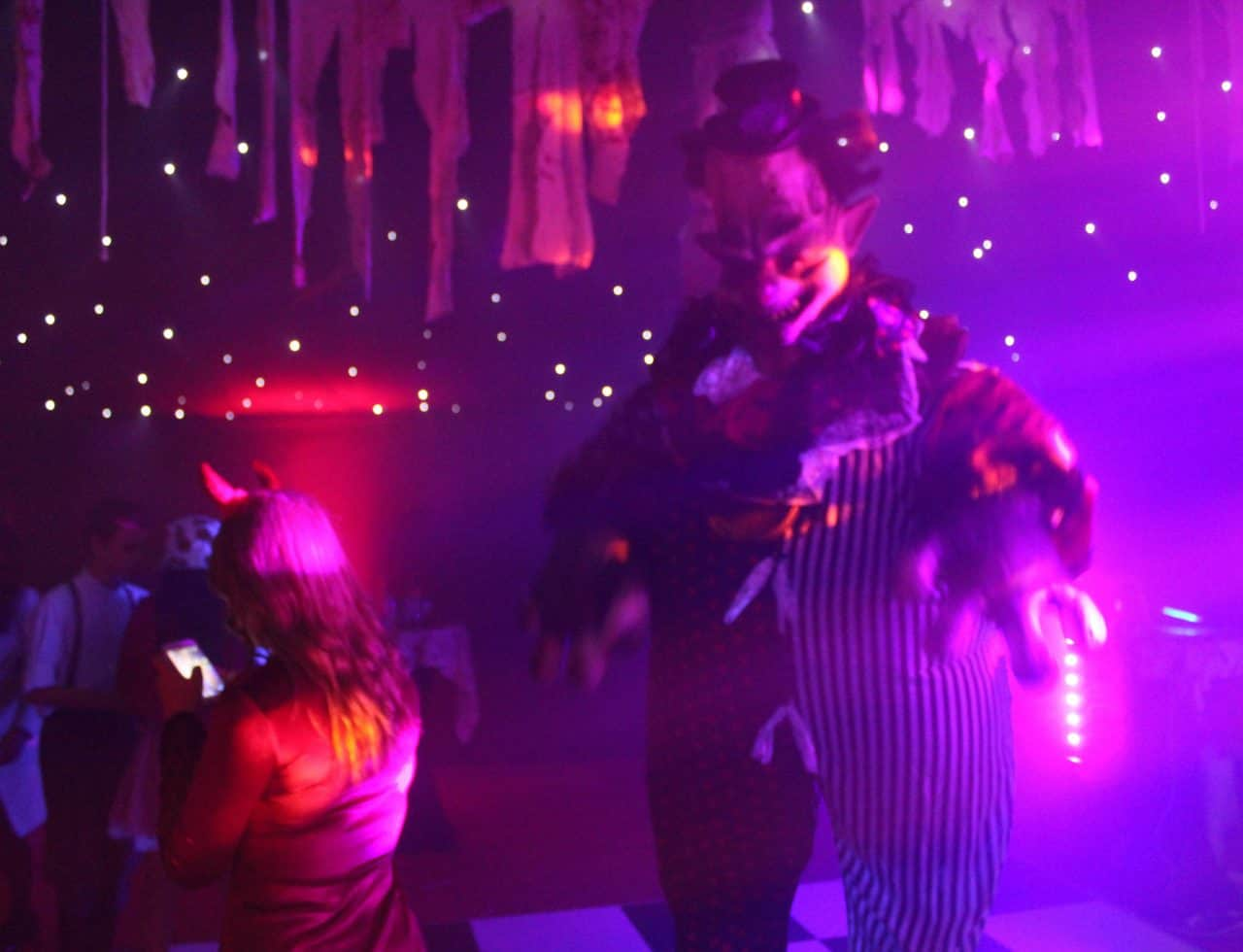 Bespoke Halloween Entertainment we hired for our Halloween birthday party.