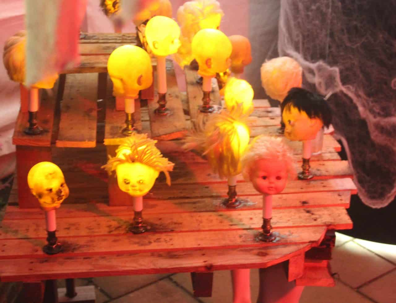 Bespoke Halloween Decorations we used to complete our Halloween venue dressing.