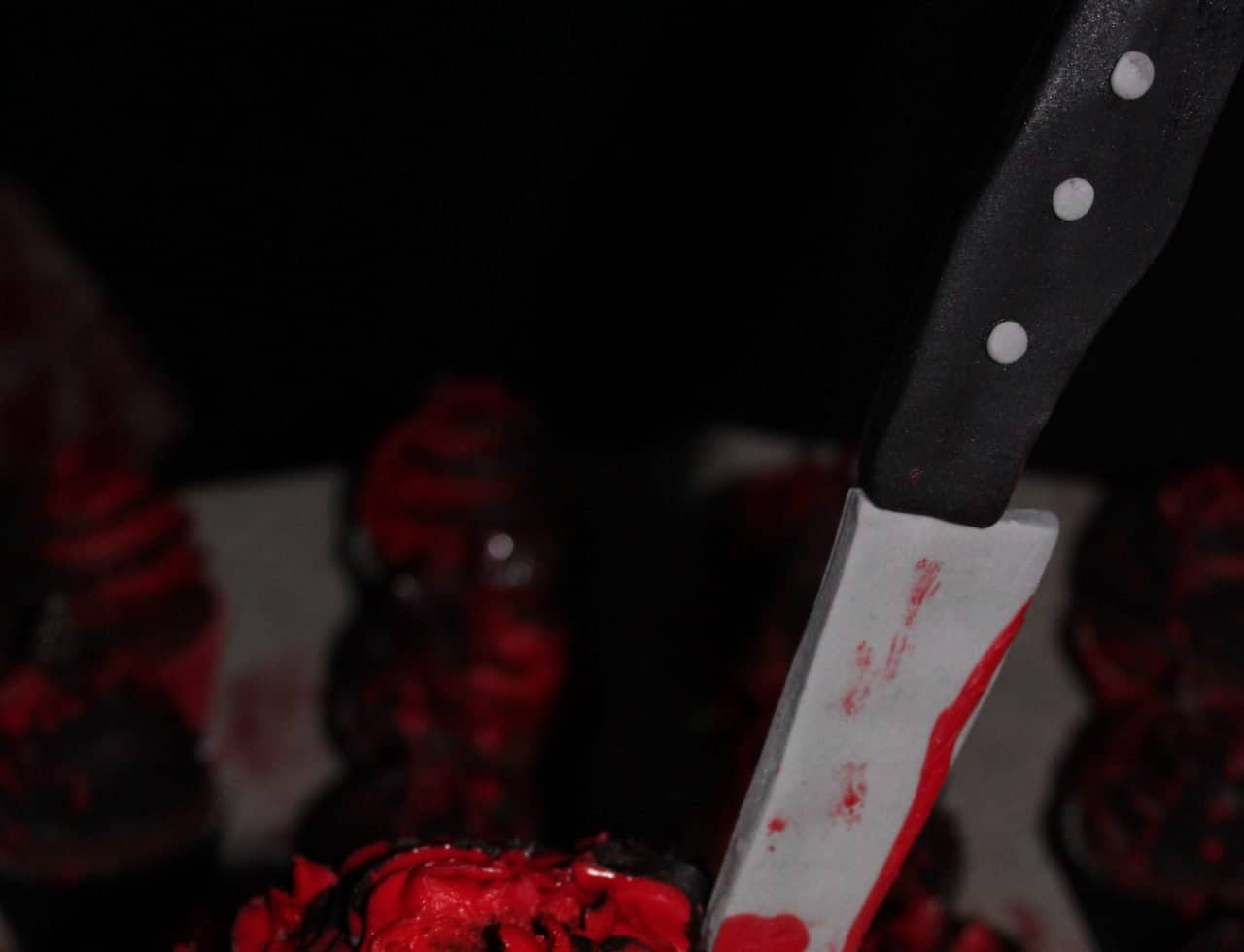 Bespoke Halloween Prop decoration we used to complete the Halloween venue dressing service for our Horror themed event.