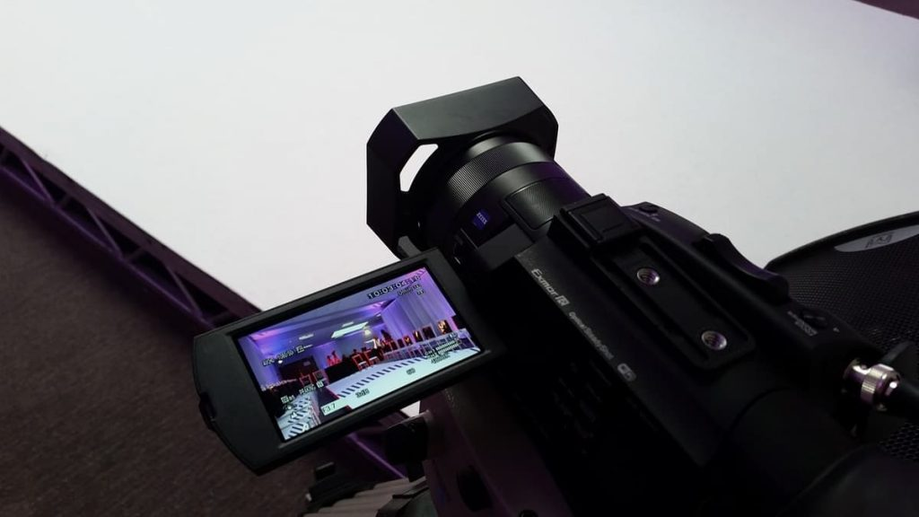 Camera used to capture footage of fashion show event for Monarch Hybrid event