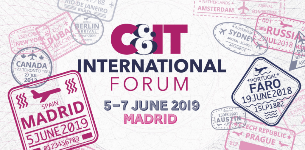C&IT International Forum June 2019 advertisement.