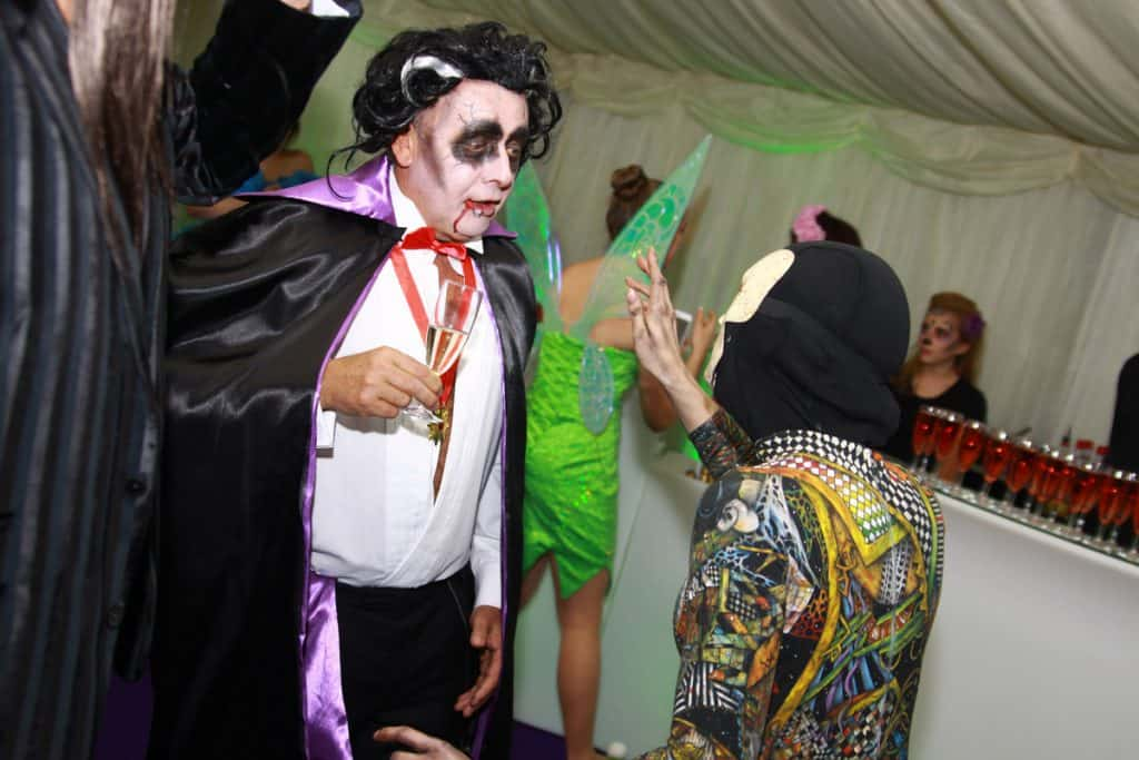 Hire our bespoke halloween event planners for private events in London and the UK