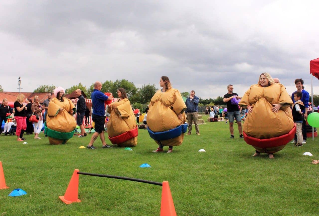 amazon family fun day organisers