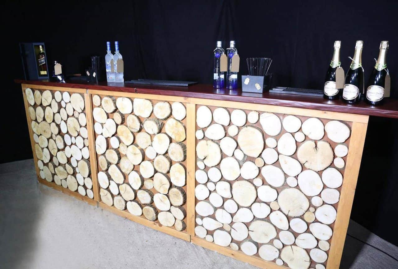 Book bespoke bar service, available for corporate events