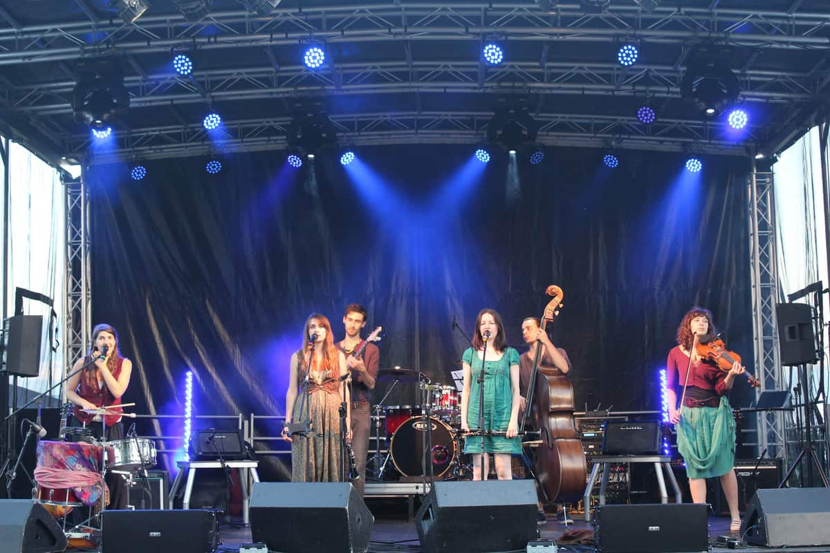 Festival themed event production to hire for corporate events in London and the UK