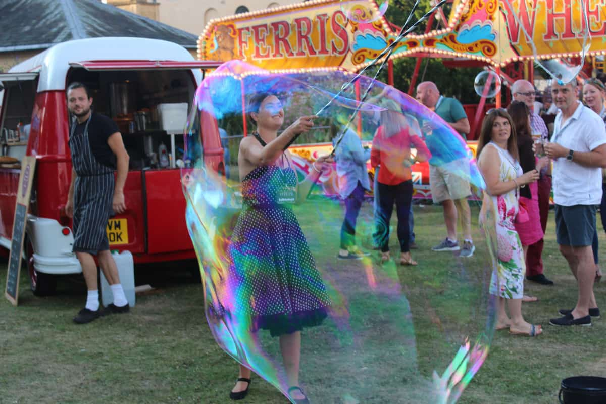 Hire our corporate festival organisers and entertainers in London and the UK