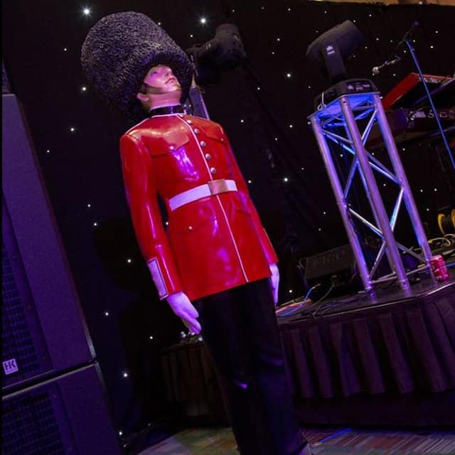 Royal and British styled queens guard for hire for royal occasions and best of British events.