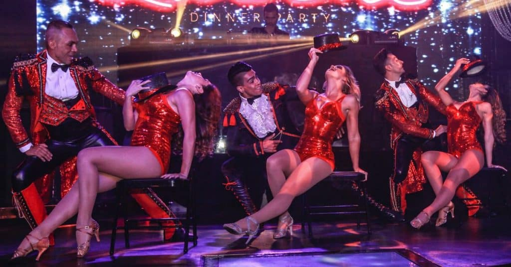 Hire Stage shows for vegas themed events
